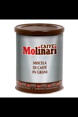 Molinari CINQUE STELLE fémdobozos szemes kávé -  250 gr