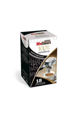 Molinari 100% Arabica kávépod - 18 db/doboz