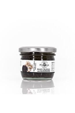 Csiperke salsa fekete szarvasgombával