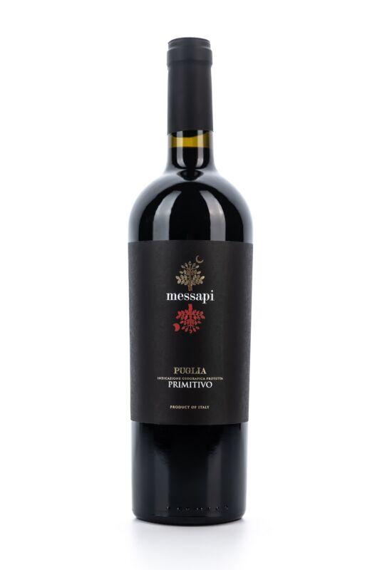 Farnese Saulo Rosso - I Messapi Primitivo Puglia