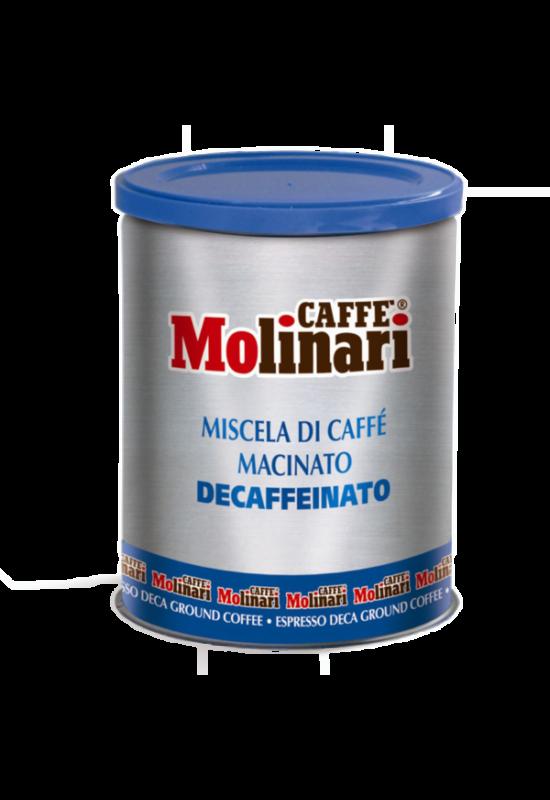 Molinari CINQUE STELLE koffeinmentes örölt kávé -250 gr