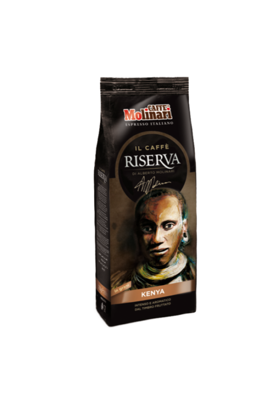Molinari caffe RISERVA Kenya 100% Arabica szemes kávé 250 gr