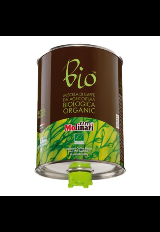 Molinari CINQUE STELLE 100% Arabica BIO ORGANIC - 3000 gr