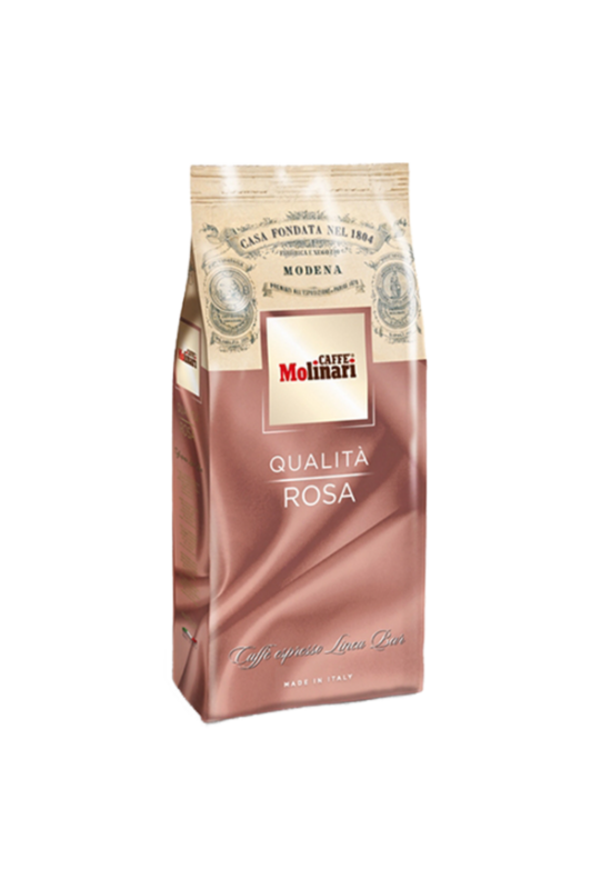 Molinari QUALITA Rosa szemes kávé - 1000 gr