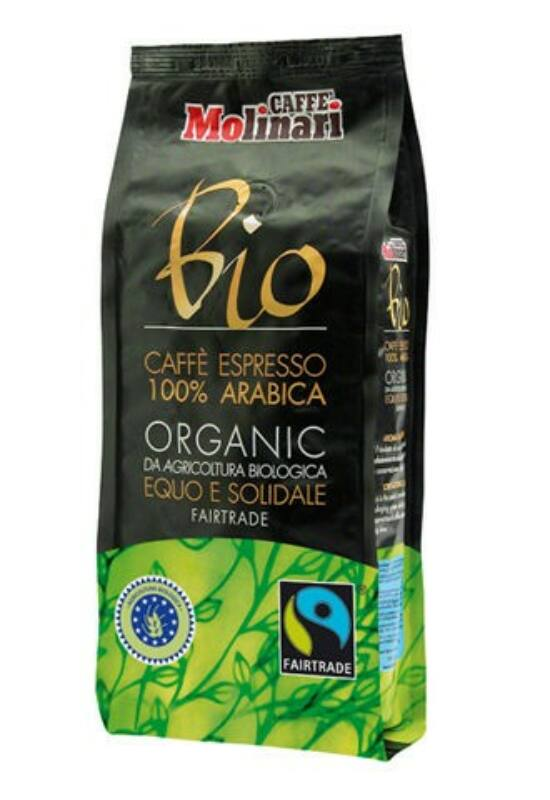 Molinari Kávé ORGANIC & FAIRTRADE 100% Arabica - 250 g