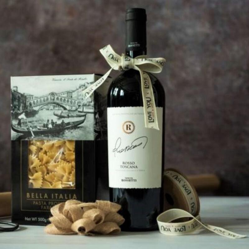 Velence Rosso olasz gourmet ajándékcsomag