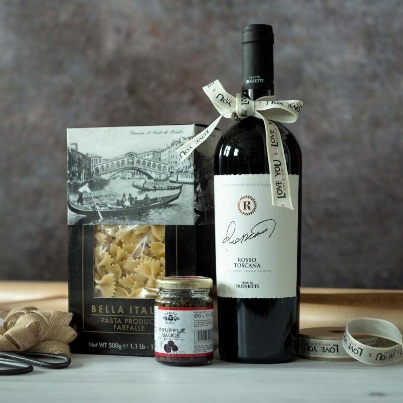 Toscana olasz gourmet ajándékcsomag