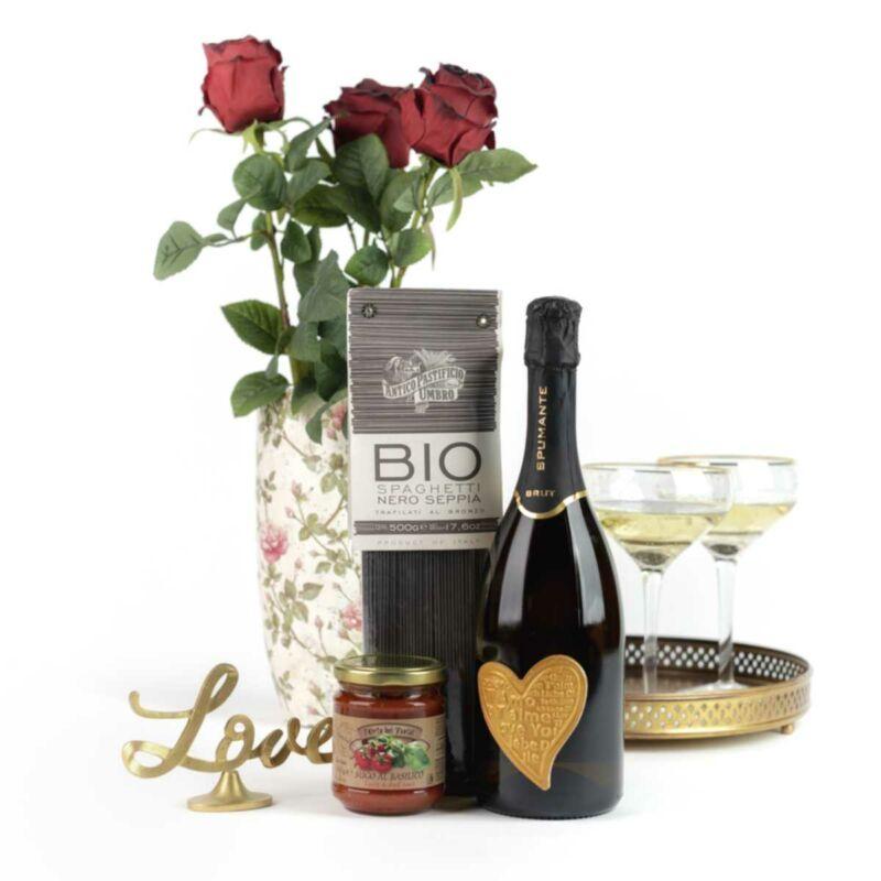 Amore Pasta Nero ajándékcsomag