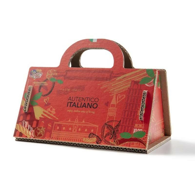 Shopper Rosso olasz gourmet ajándékcsomag