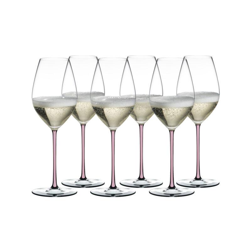 Riedel Fatto A Mano Champagne pohár (6 db)