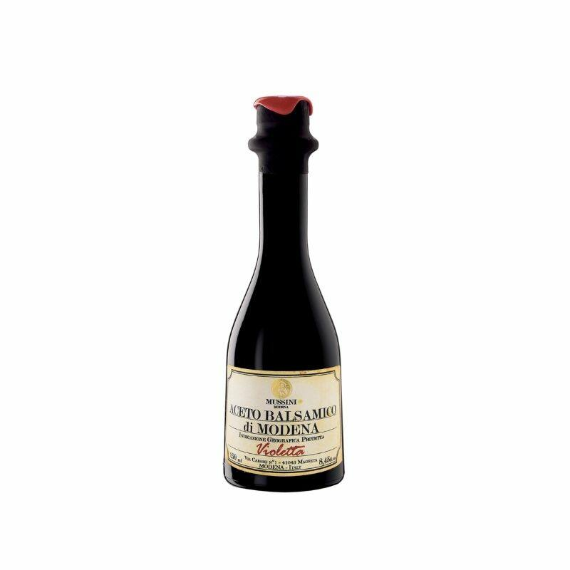 Mussini szűz balzsamecet modena  VIOLETTA 1 hordós 250 ml
