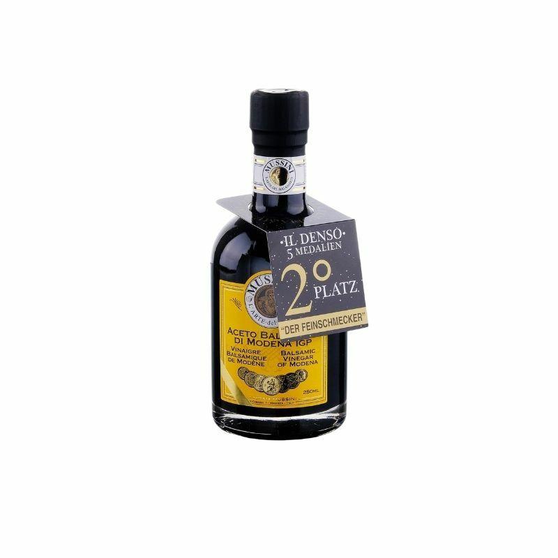 Mussini THE DENSE modenai 5 hordós szűz balzsamecet 250 ml