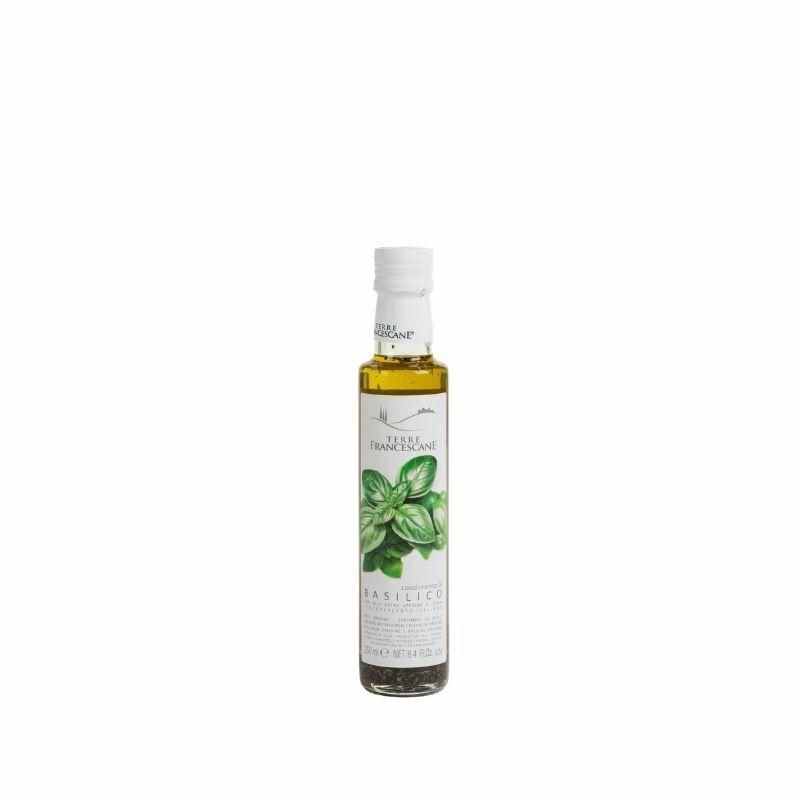 Terre Francescane bazsalikomos olivaolaj 250 ml