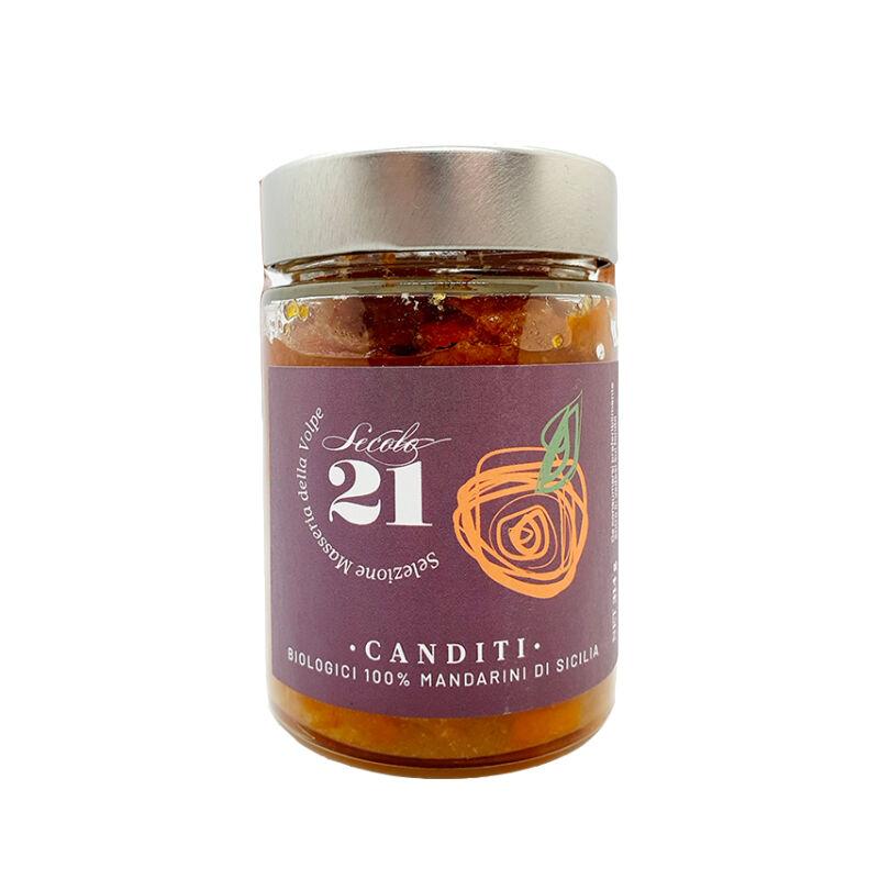 Secolo 21 kandírozott mandarin 314g