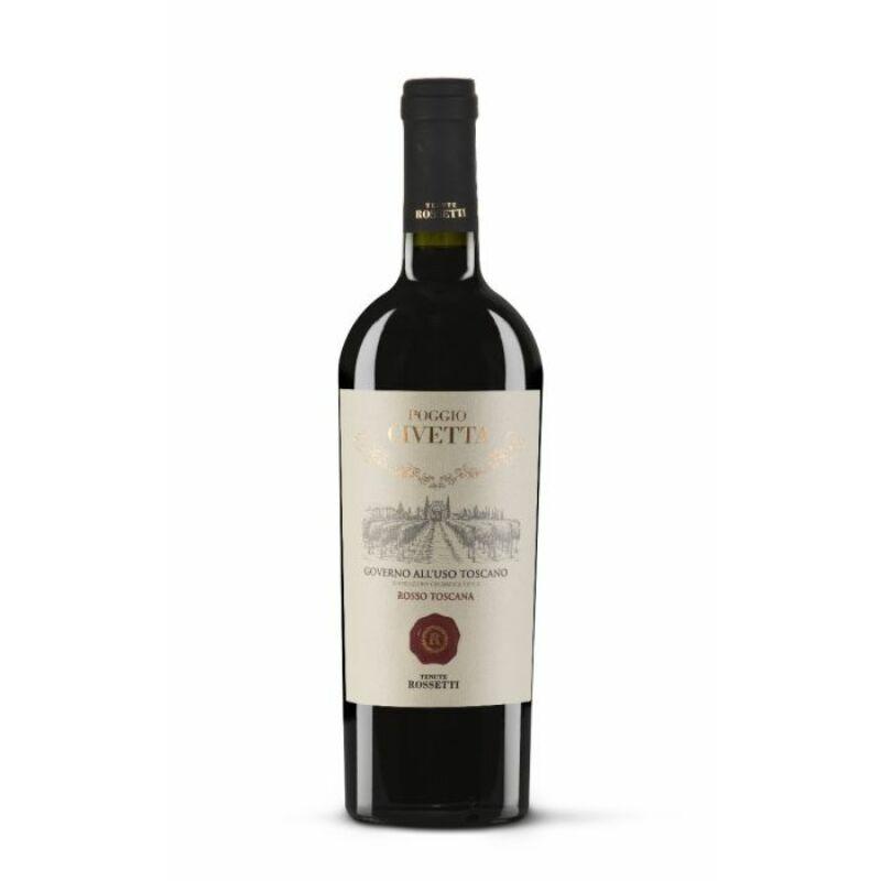 Farnese Tenute Rosetti - Poggio Civetta - Governo vörösbor 750 ml