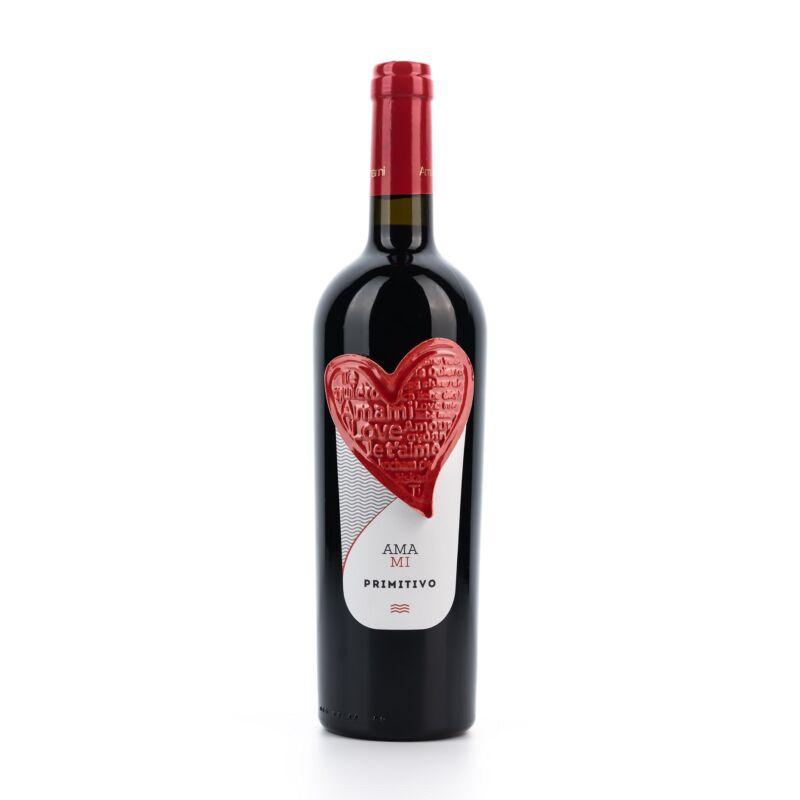 AMAMI - Primitivo IGP Puglia vörösbor száraz