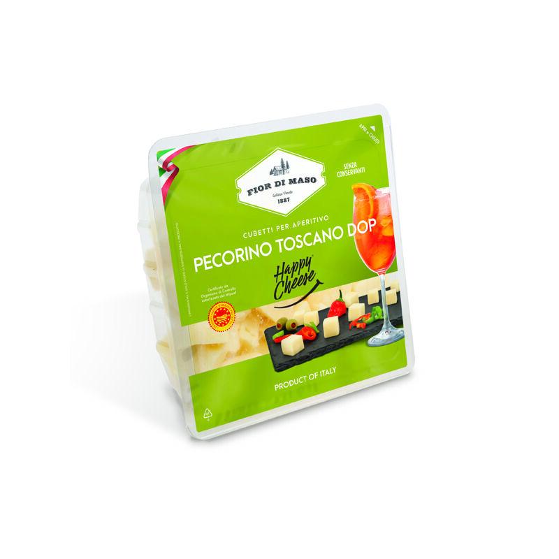 Fior Di Maso Pecorino Toscano DOP kockázott sajt 100 g