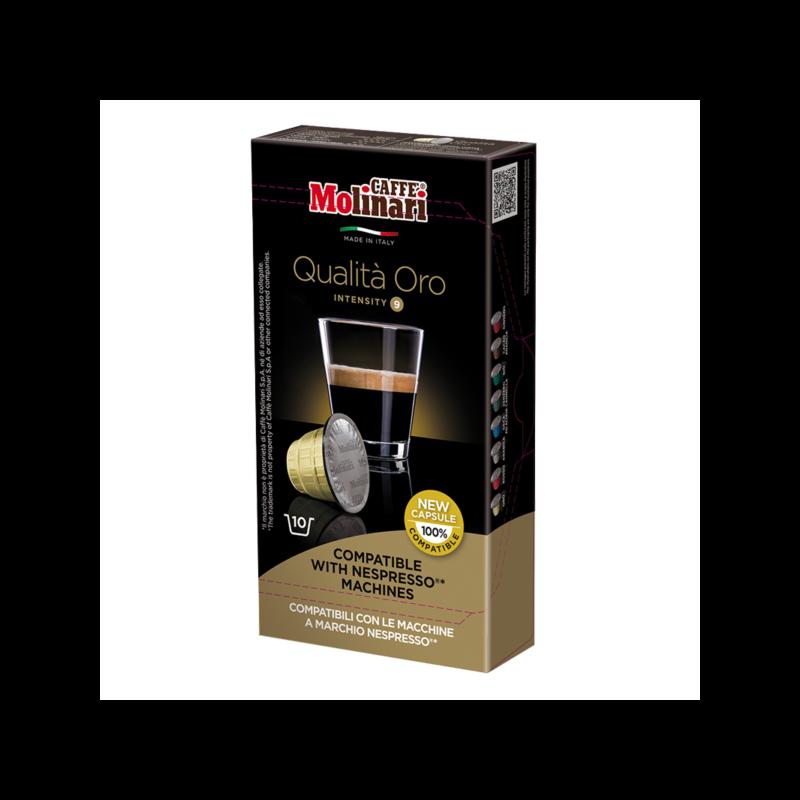 QUALITÁ Oro (NESPRESSO) kávékapszula 10 db/doboz