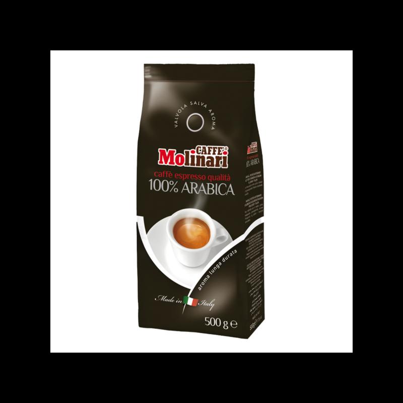 100% Arabica szemes kávé 500 gr