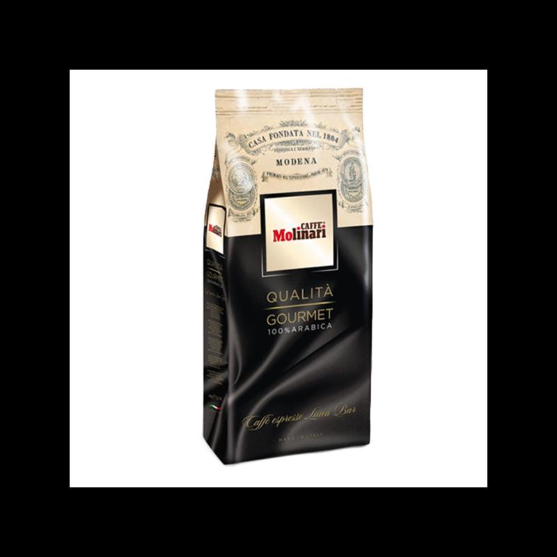 Molinari Qualitá Gourmate 100% Arabica szemes kávé 1 kg