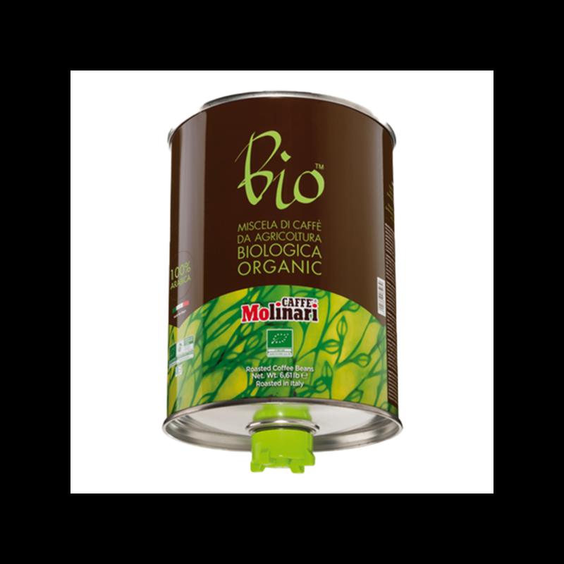 CINQUE STELLE 100% Arabica BIO ORGANIC 3 kg, fémdobozban