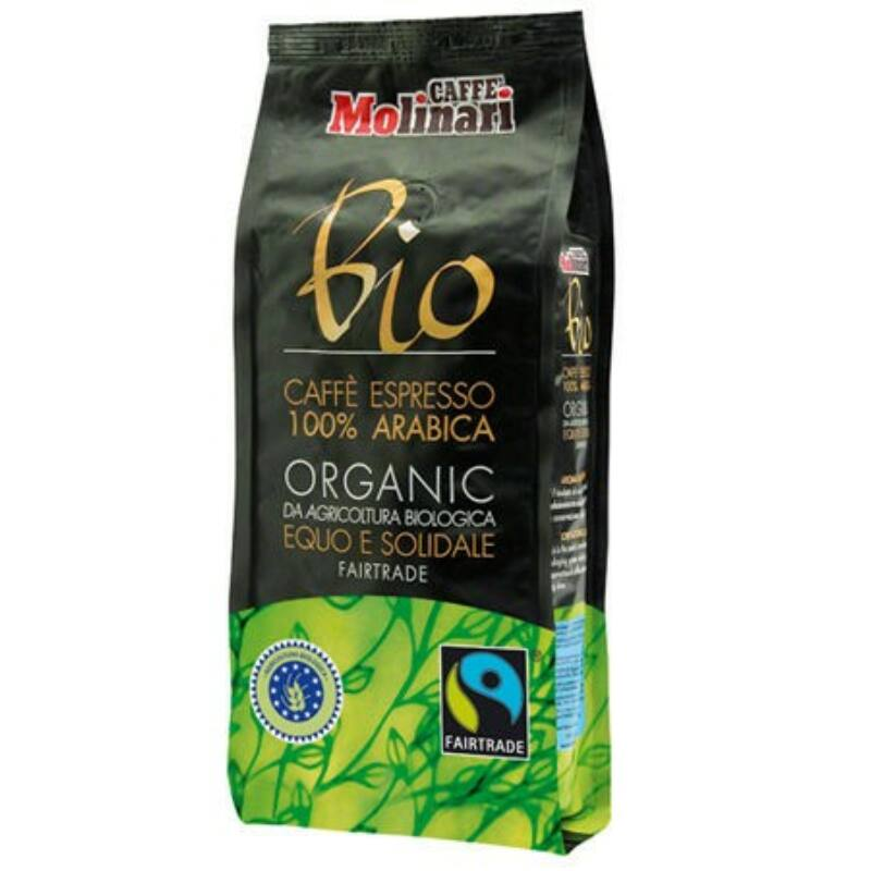 BIO ORGANIC & FAIRTRADE szemes kávé 250 g