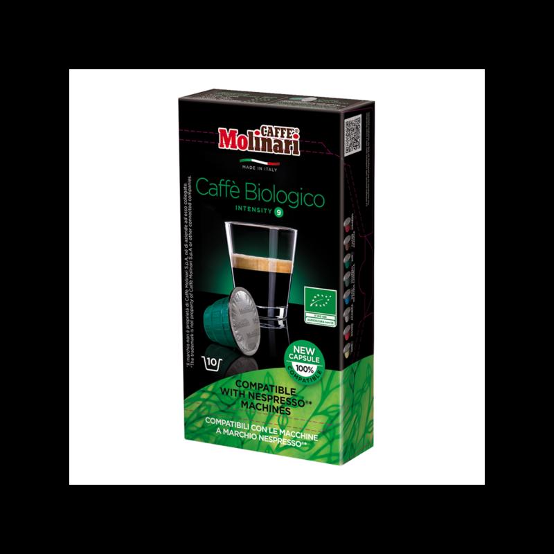 BIO ORGANIC & FAIRTRADE (NESPRESSO) kávékapszula 10 db/doboz