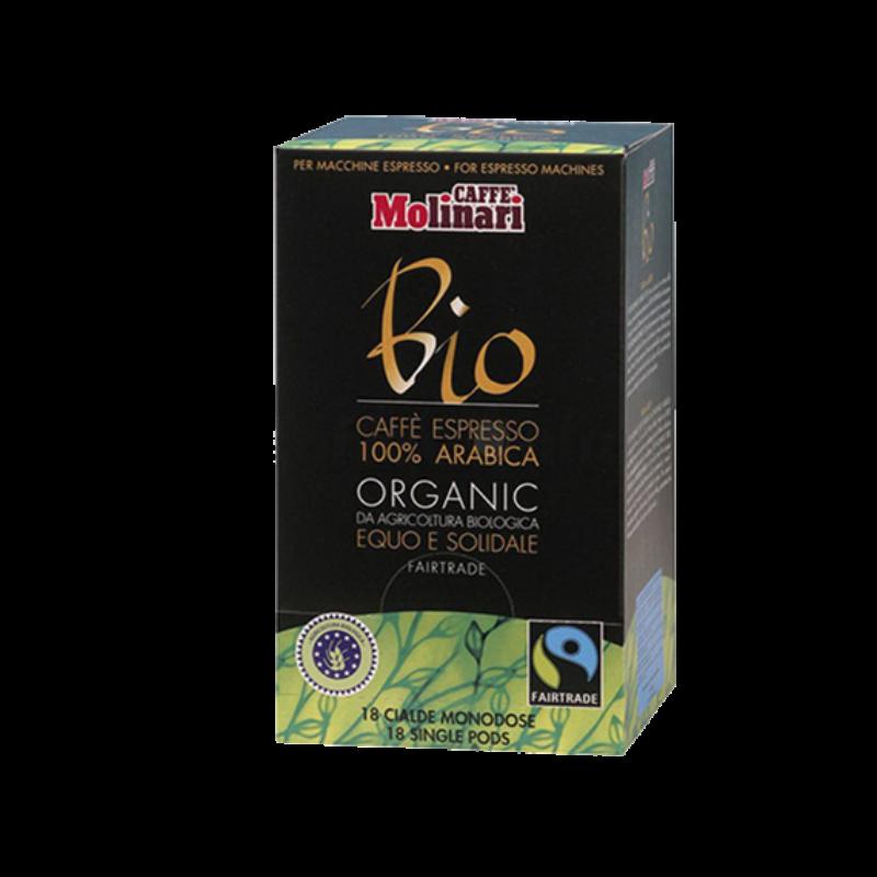 BIO ORGANIC & FAIRTRADE kávépod 18 db