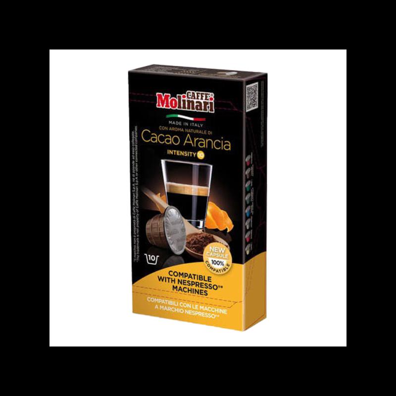 Molinari kakaó – narancs (Nespresso) kávékapszula 10 db