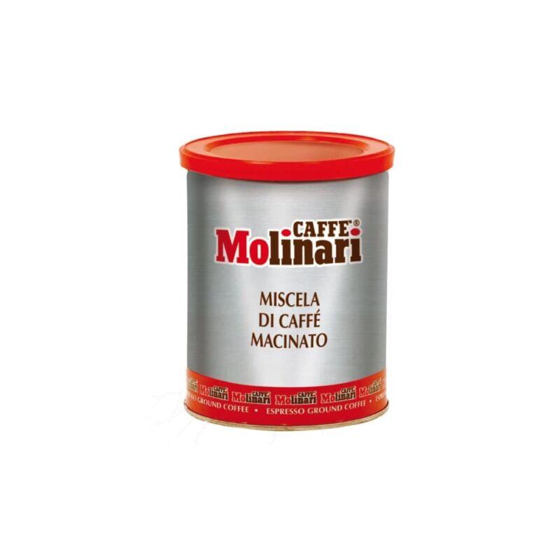 Molinari Cinque Stelle macinato őrölt kávé 3 kg fémdobozban