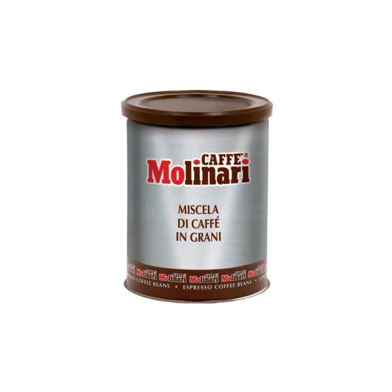 Molinari Cinque Stelle szemes kávé 250 g fémdobozban