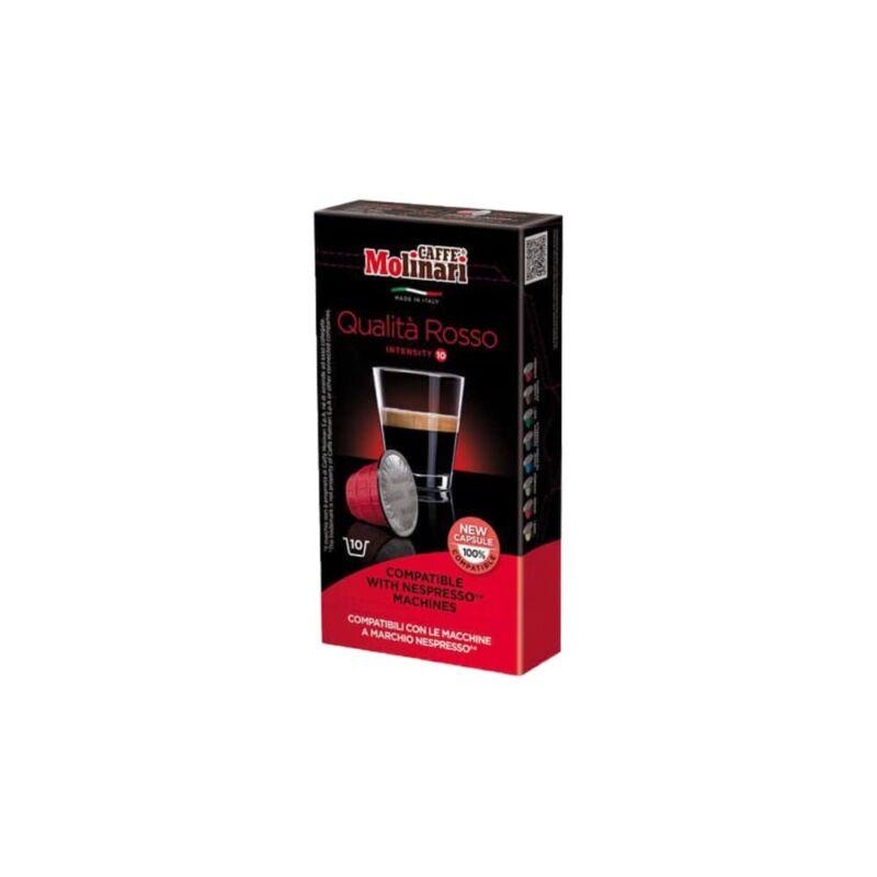 Molinari Qualitá Rosso arabica/robuszta (Nespresso) kávékapszula 10 db
