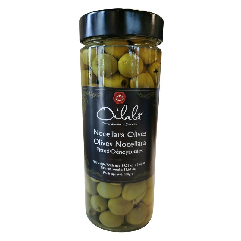 Oilalá olasz Nocellara olívabogyó magozott 560 g