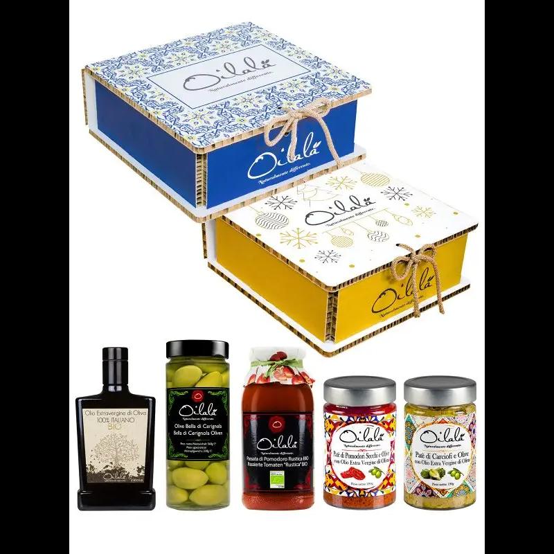 Oilalá Majolica Box - olasz gourmet ajándékcsomag