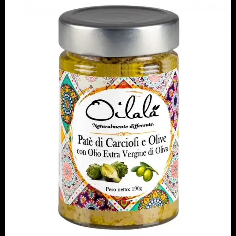 Articsoka es oliva pastetom