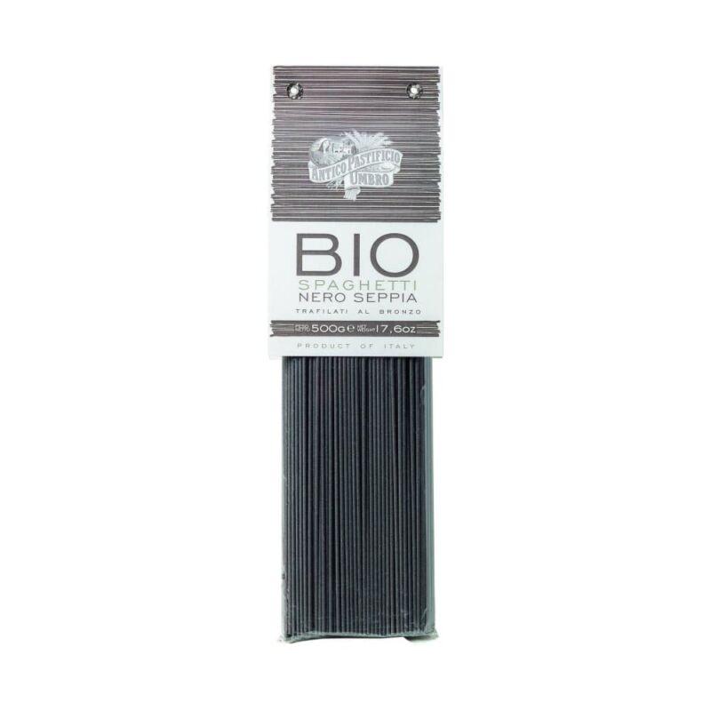 Bio spaghetti fekete szépiával tészta 500 g