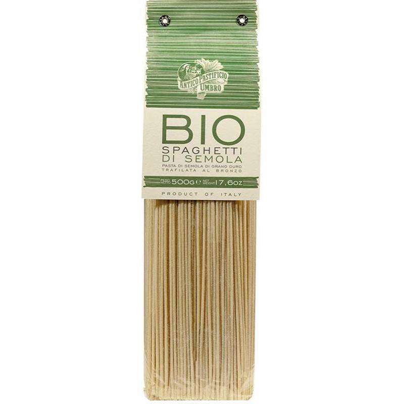 BIO teljes kiörlésű spaghetti  500 gr