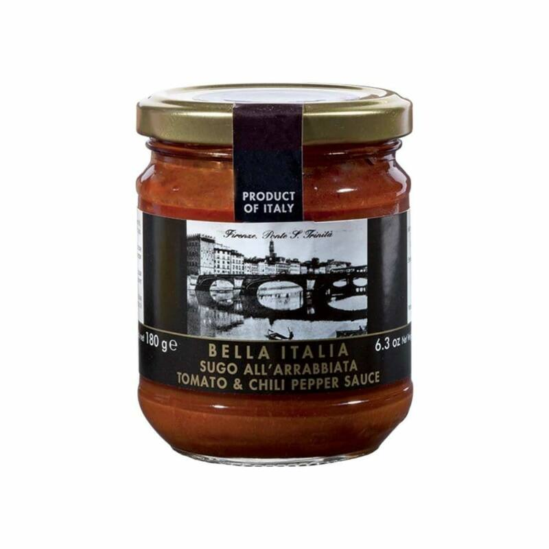 Bella Italia chili paprikás, olasz paradicsomszósz 180 g