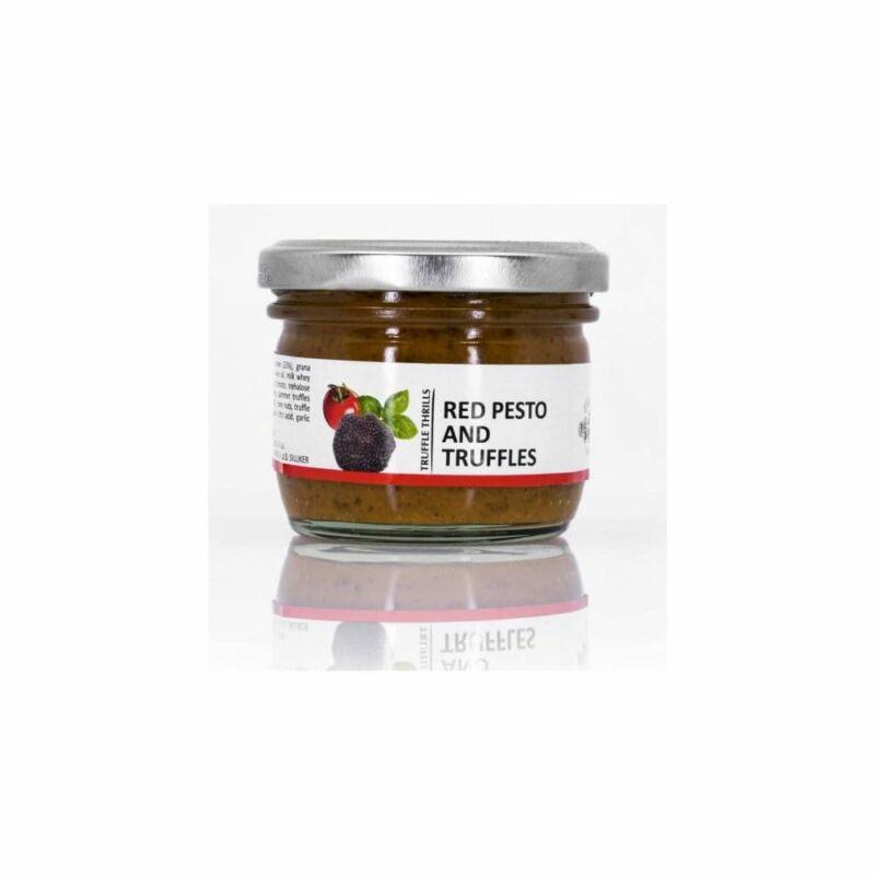 Fekete szarvasgombás, bazsalikomos vörös pesto 100 g