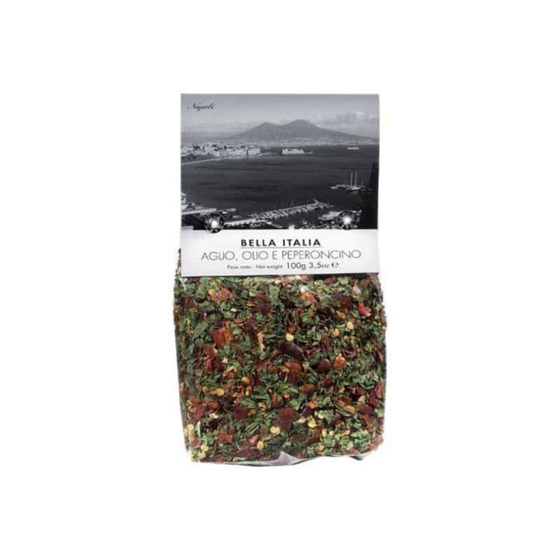 Bella Italia fűszerkeverék fokhagymával chili paprikával 100 g